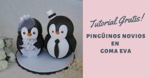 Pingüinos novios tutorial gratuito
